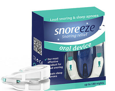 Snoreeze Anti-Snoring Self-Fit Oral Device