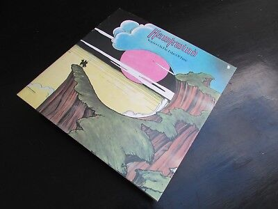 HAWKWIND - WARRIOR ON THE EDGE OF TIME UK  1st ISSUE SHIELD / INNER - EXCELLENT