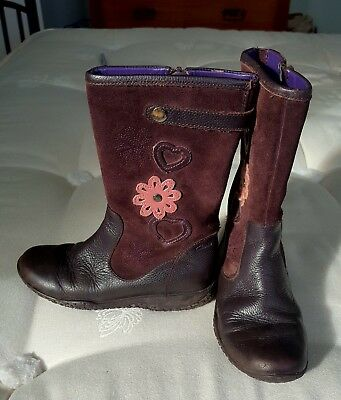 Girls CLARKS Boots, Size 12F