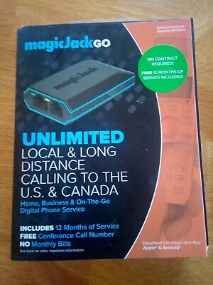 Magic Jack Go new  unlimited plan phone plan to USA and Canada