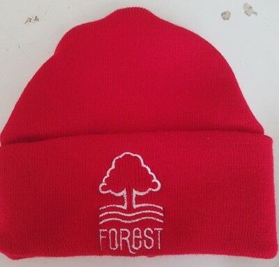 Nottingham Forest wooly HAT Beanie hat The Reds