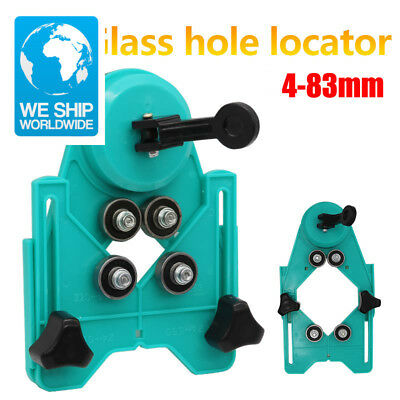New Adjustable 4-83mm Diamond Drill Bit Tile Glass Hole Saw Core Bit Guide With