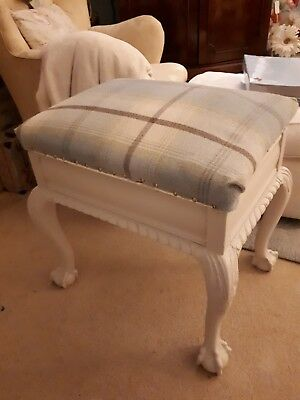 Newly Upholstered Piano Stall