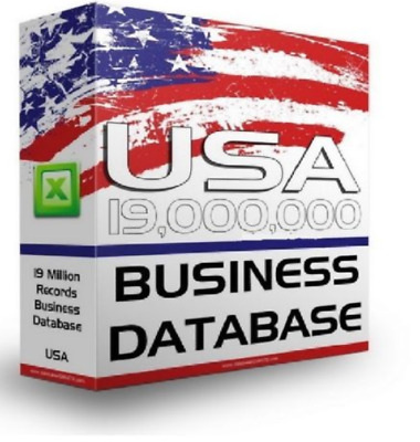 19M Email List B2B USA Business/Companies,Address,Phone Database Email List