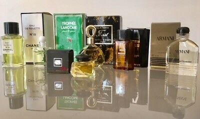 lots de 6 Miniature De Parfum de collection ( lot N° 2 )