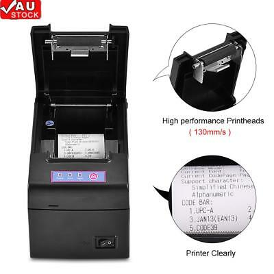 POS Thermal Receipt Printer 48mm Auto Cutter Serial Port/USB/Ethernet 130 mm / s