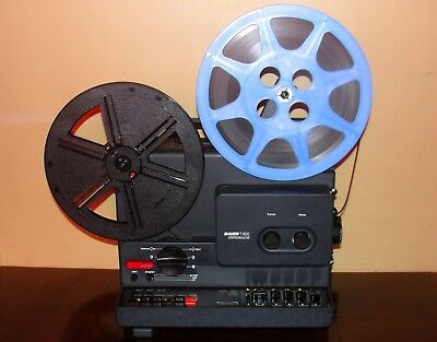 Bauer T 600 StereoSound  Super 8 Projector with ( f: 1.1 Lens ) EXCELLENT