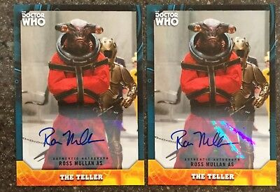 2017 Doctor Who Signature Series Ross Mullen as The Teller