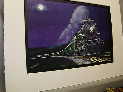 Southern Railway the Crescent Limited The Queen Color Railroad Archives tw