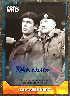 2017 Doctor Who Signature Series Ralph Watson as Captain Knight