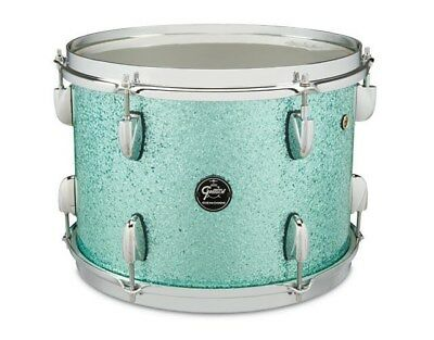 Gretsch Renown Maple 14x6.5in Snare, Turquoise Sparkle