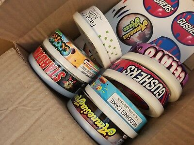 Press In Tins / Cali Tin Labels / Tuna Can Plastic Lid & Stickers Various