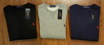 Ralph Lauren Polo Mens / Boys Sweatshirt - Black Navy Grey S M L XL XXL - New