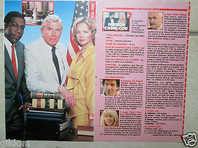 Fiche Matlock  Andy Griffith & Linda Purl