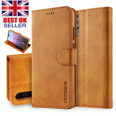 Magnetic Flip Leather Wallet Card Case Cover For Huawei Mate 20 Pro Lite P30 P20