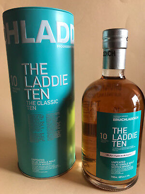 Bruichladdich The Laddie Ten 0,7l 46% Single Malt Whisky 10 Jahre