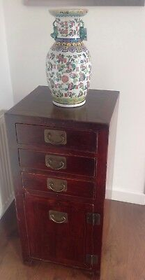 Early 1900's Chinese Hardwood Cabinet.