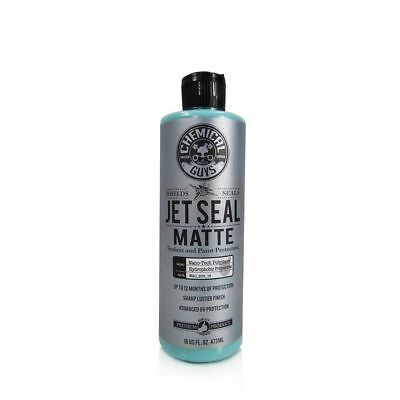 Chemical Guys Jet Seal Matte Sealant and Paint Protector - 16oz + Microfibre