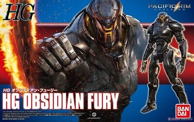 PACIFIC RIM Uprising Jaeger Robot Obsidian Fury High Grade Model Kit HG Bandai