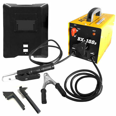 100 AMP AC Arc Rod Stick Welder | 110/220V Welding Machine Set
