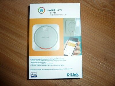 D-Link DCH-Z510 mydlink Home Sirene Alarm Warnung 110dB iOS Android Appsteuerung
