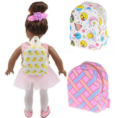 Fashion Bag for 18 Inch Doll Accessories Kids Children Baby Girl's Toy Dress PM