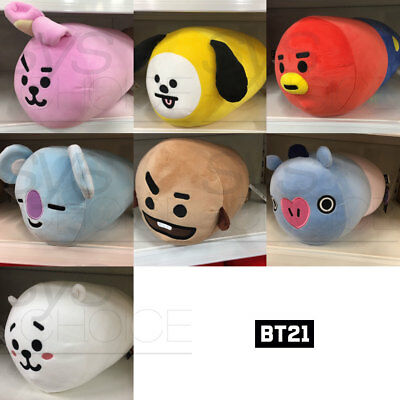 BTS BT21 Official Authentic Goods Round Cushion by Home Plus + Tracking Number