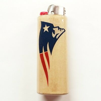 New England Patriots Lighter Case Holder Sleeve Cover Fits Bic Lighters