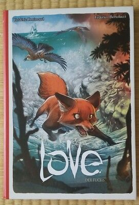 Manga, Comic, Graphic Novel, LOVE FUCHS Tokyopop - Frederic Brremaud - Hardcover
