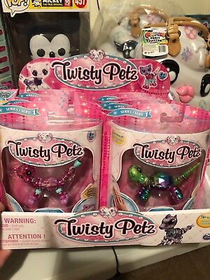 """Twisty Petz Case of 10 - Includes """"Bow Bow""""  - In Hand Ready to Ship"""
