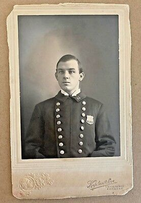 NYPD cabinet photo 100 years old GREAT CONDITION!