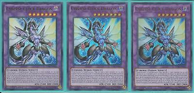 SOFU-EN034 CYBERSE CLOCK DRAGON – Ultra Rare - 3X 1st Edition GET YOURS FIRST!