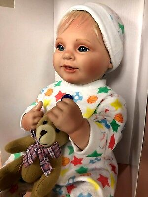 DOLL, NEW, BABY BE MINE, Handcrafted, Gentle Touch, With Birth Certificate