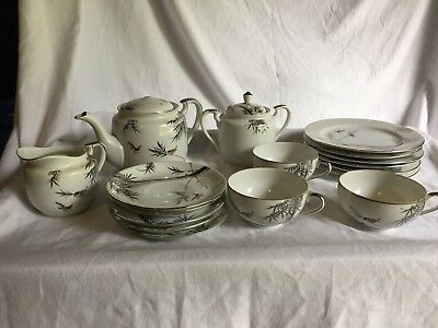 Hayasi Kutani China Tea/coffee Set
