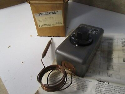 "Wellman 6A426G202 Thermostat, 60-250, 60"" capillary"