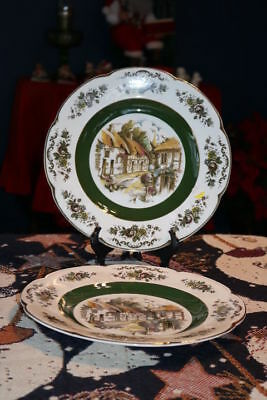 """Woods & Sons - ASCOT - Alpine White - England - 10 3/4"""" Charger / Service Plate"""