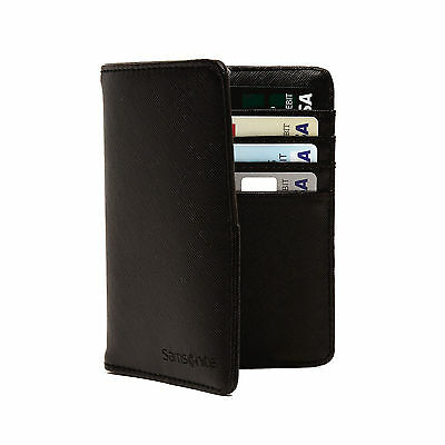 Samsonite RFID Passport Wallet Black - Luggage
