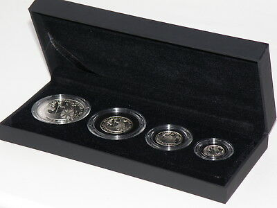 Royal Mint 2008 - FOUR COIN BRITANNIA SILVER PROOF SET c/w BOX & CERTIFICATE