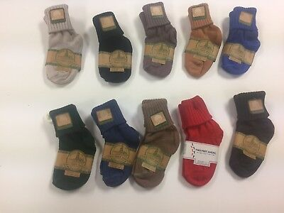 wholesale baby socks  size 4-5 (6-12mo) , 6pc lot you pick colors