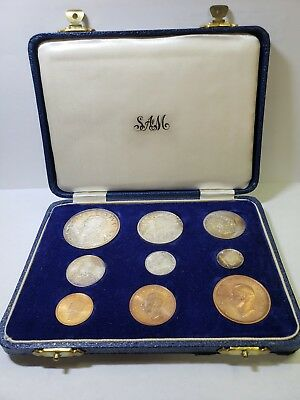 1952 South African Short Proof Set In SA Mint Box