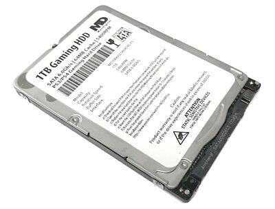 "MaxDigital 1TB 5400RPM SATA 3Gb/s PS4 2.5"" Hard Drive (PS3,PS4,PS4 Slim,PS4 Pro)"
