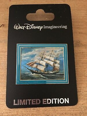 Pin 54047 WDI - Haunted Mansion - Ghost Ship (Lenticular) - LIMITED EDITION 300!