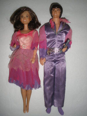 Donny and Marie Osmond dolls