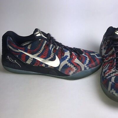 sale retailer 8cd8f e8dad ... Nike Kobe 9 IX EM USA Independence Day July 4th Men s Size 12646701-104  After announcing their official ...