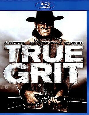 NEW BLU-RAY // True Grit // John Wayne, Glen Campbell, Kim Darby,