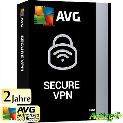 AVG Secure VPN 2019 1 PC 2 Jahre Vollversion | Internet Security | Privatsphäre