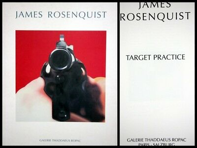 James Rosenquist : Target Practice. Published by Salzburg, Ropac 1996.   TAMA-S
