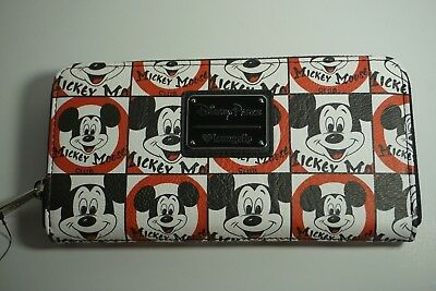 Disney Parks Loungefly Mickey Mouse Club Mousketeers Wallet Walt Disney World