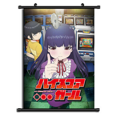 6129 High Score Girl Decor Poster Wall Scroll cosplay