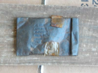 4 x INLAND NOS M1 CARBINE USGI DISCONNECTOR SWITCH SEALED IN WWII POUCH